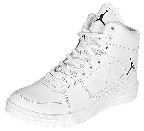 White Running Sports Shoe (IND/UK