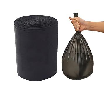 Feisco - Bolsa de basura negra, bolsa de basura pequeña ...