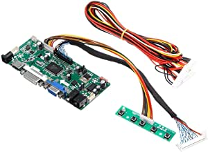 YASE-king M.NT68676.2A LCD Monitor Controller Board Converter Driver Kit HDMI DVI VGA for 1920x1200 LM240WU2-SLB2 Scientific Experiment Module