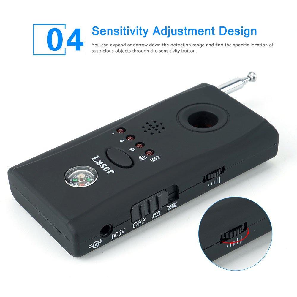 ShenZhen Toughsty Anti-Spy Hidden Camera Bug Scanner RF Detector GSM Device Finder Toughsty Technology Ltd NA Co