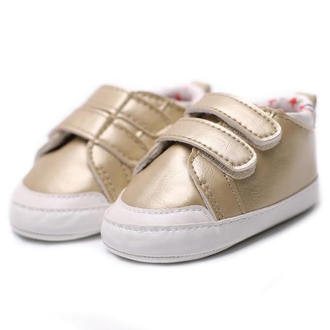 Säugling Baby Junge Mädchen Weiche Sohle Crib Schuhe Anti-Rutsch Turnschuhe