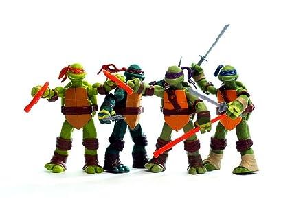Tortugas Ninja - Teenage Mutant Ninja Turtle - 12 CM - 4 modelos (genérico)