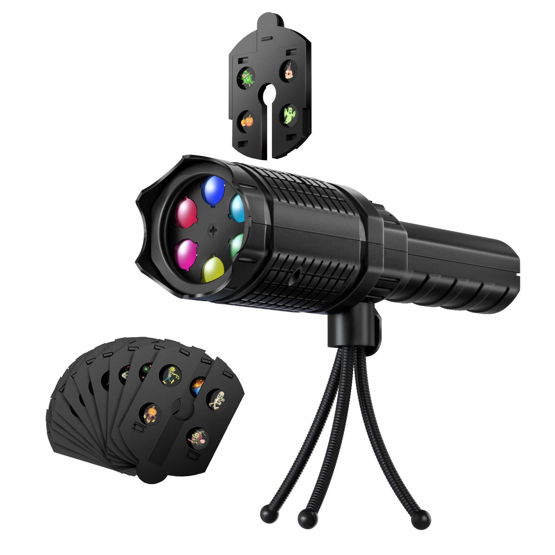 Mini proyector antorcha LED para Navidad, lámpara de bolsillo con ...