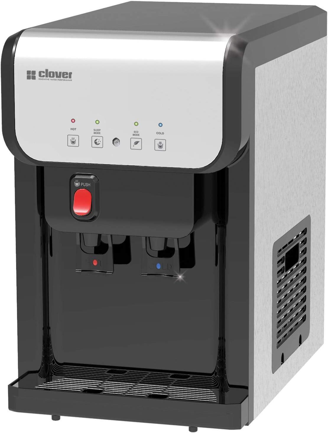 浄水器内蔵 水道管直結型ウォーターサーバー SD19A1 卓上タイプ ブラック