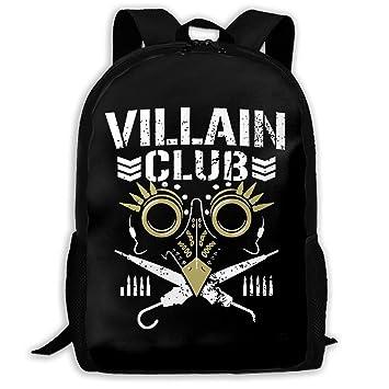 ed736b31f20a Amazon.com: Backpack, Travel Hiking Villain Club Backpacks ...