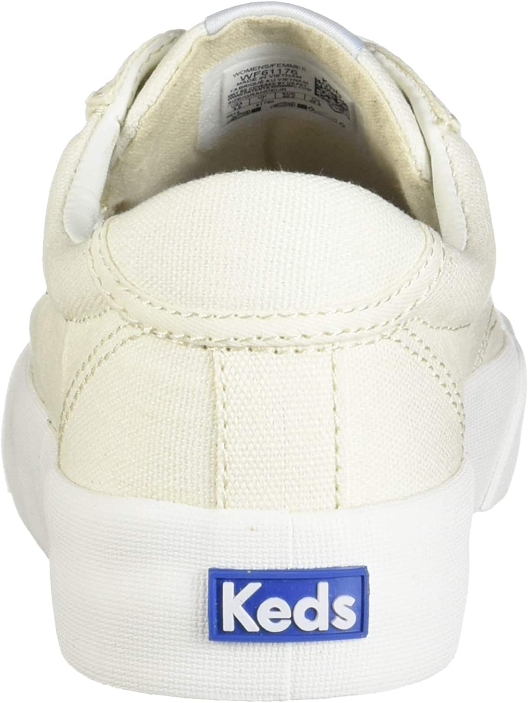 Keds Crew Kick 75 Leather, Scarpe da Ginnastica Donna Tela Bianca