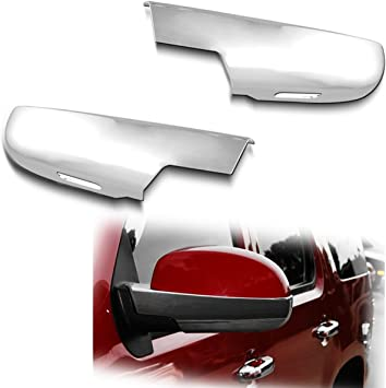 07-14 Cadillac Escalade Chrome Side Mirror Covers Lower Half Cover