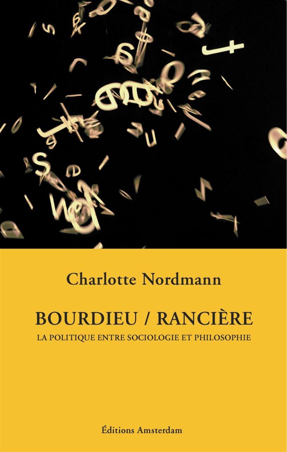 Bourdieu - Ranciere ebook