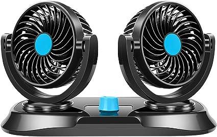 Ventilador de coche, vehículo de automóvil clip ventilador potente ...