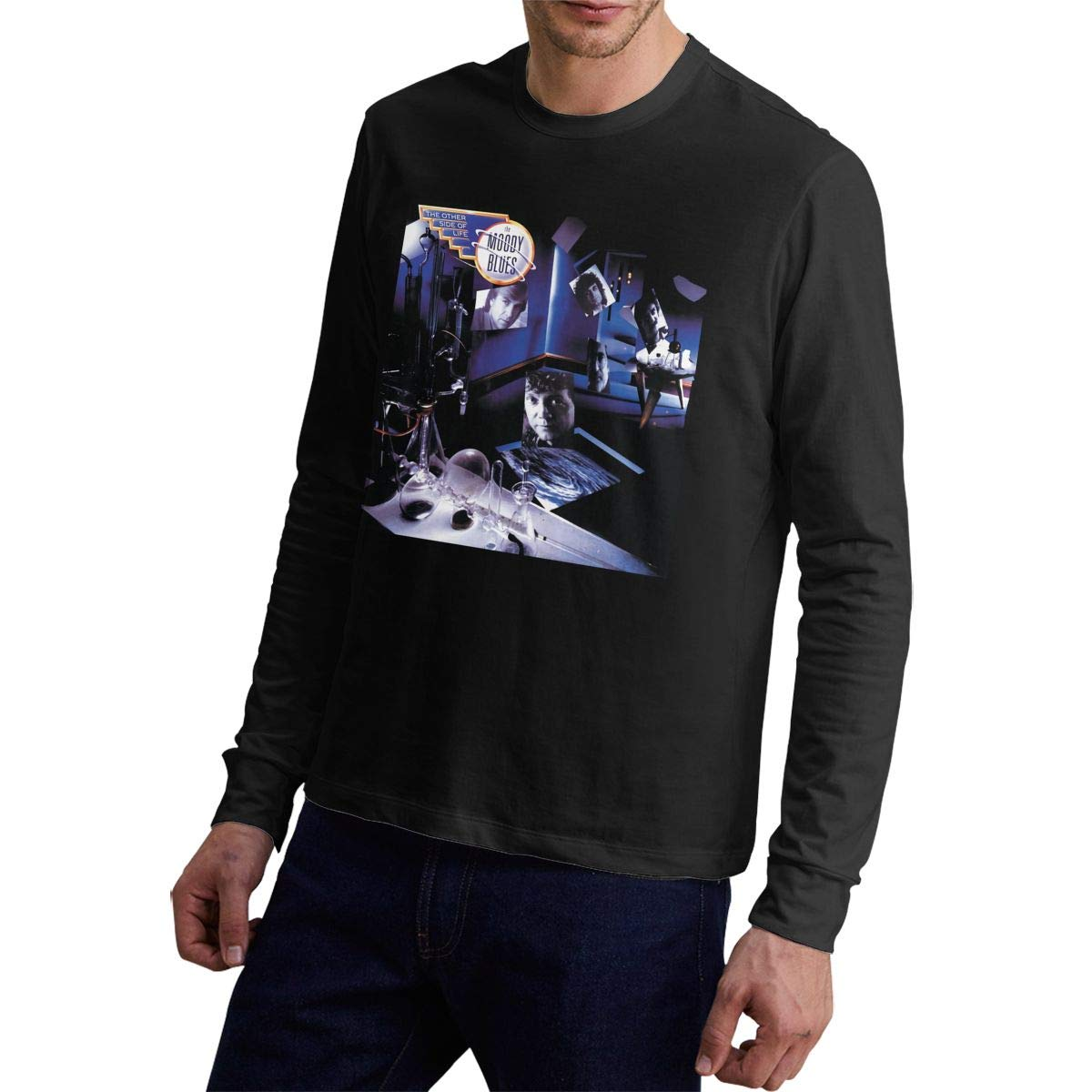 Robertrcastleberry The Moody Blues The Other Side Of Life Man's Fashion Casual Style Shirts