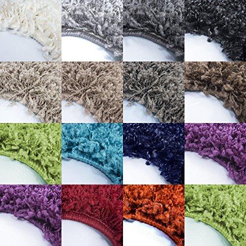 Amazonde Teppich Fr Wohnzimmer Gnstig Hochflor Shaggy Mit Verschiedenen Farben Und
