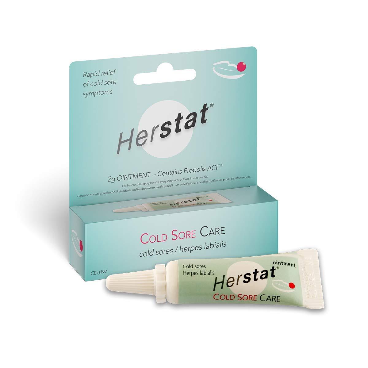 Herstat Cold Sore Cream – Effective Propolis Cold Sore Treatment