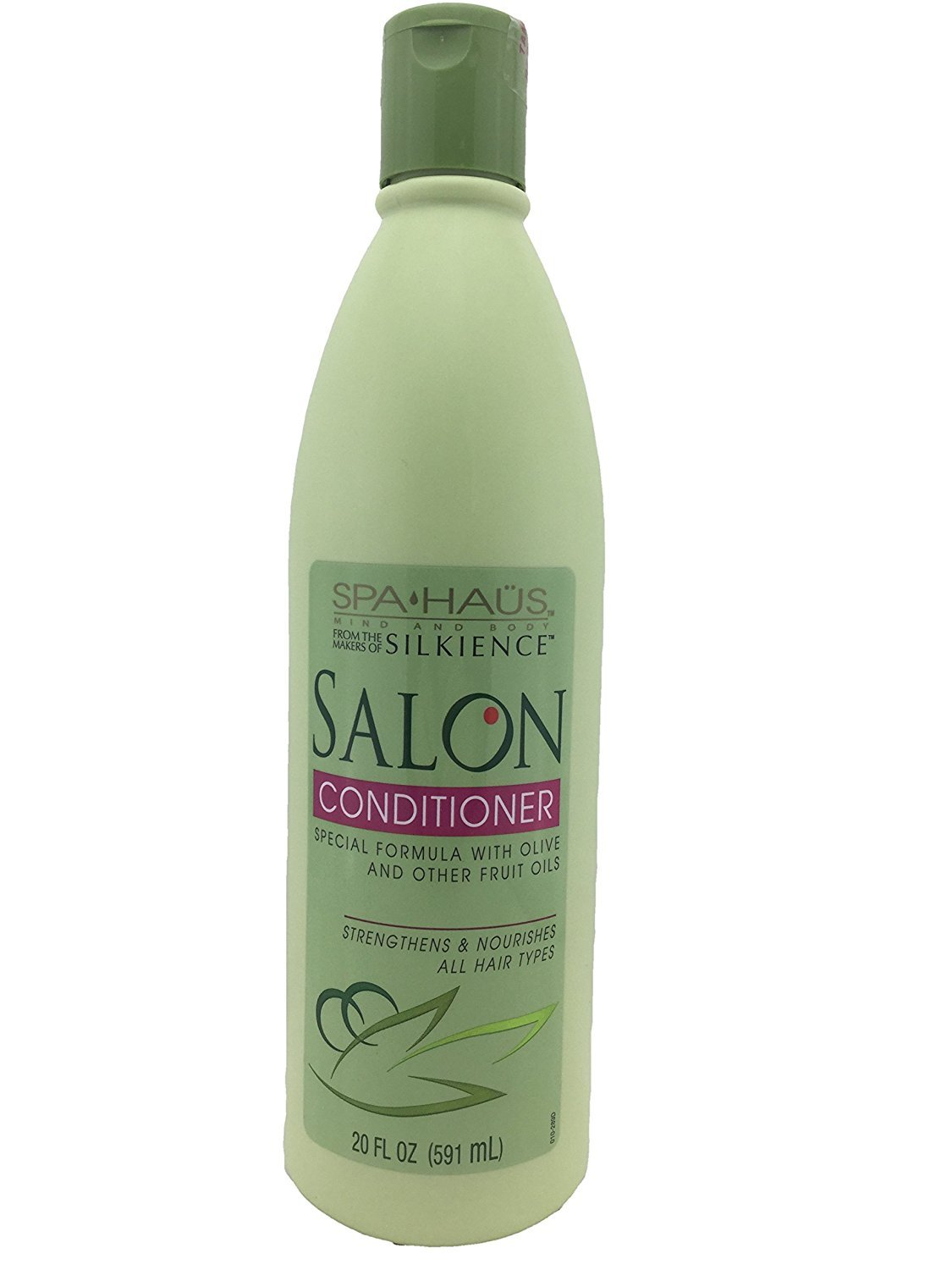 amazon com spa haus mind and body salon shampoo with olive and