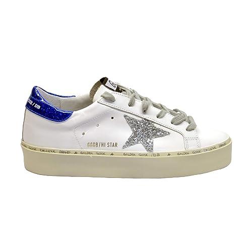 Star Goose Hi In Golden Glitter itScarpe Sneakers ArgentoAmazon KuFTlJ31c