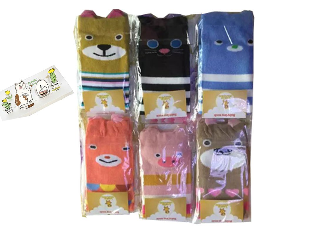 Luckystaryuan Set of 6 Infant Baby Leg Protector Children Leg Warmer
