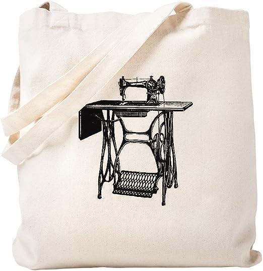 CafePress - Bolsa para máquina de coser vintage, lona, caqui ...