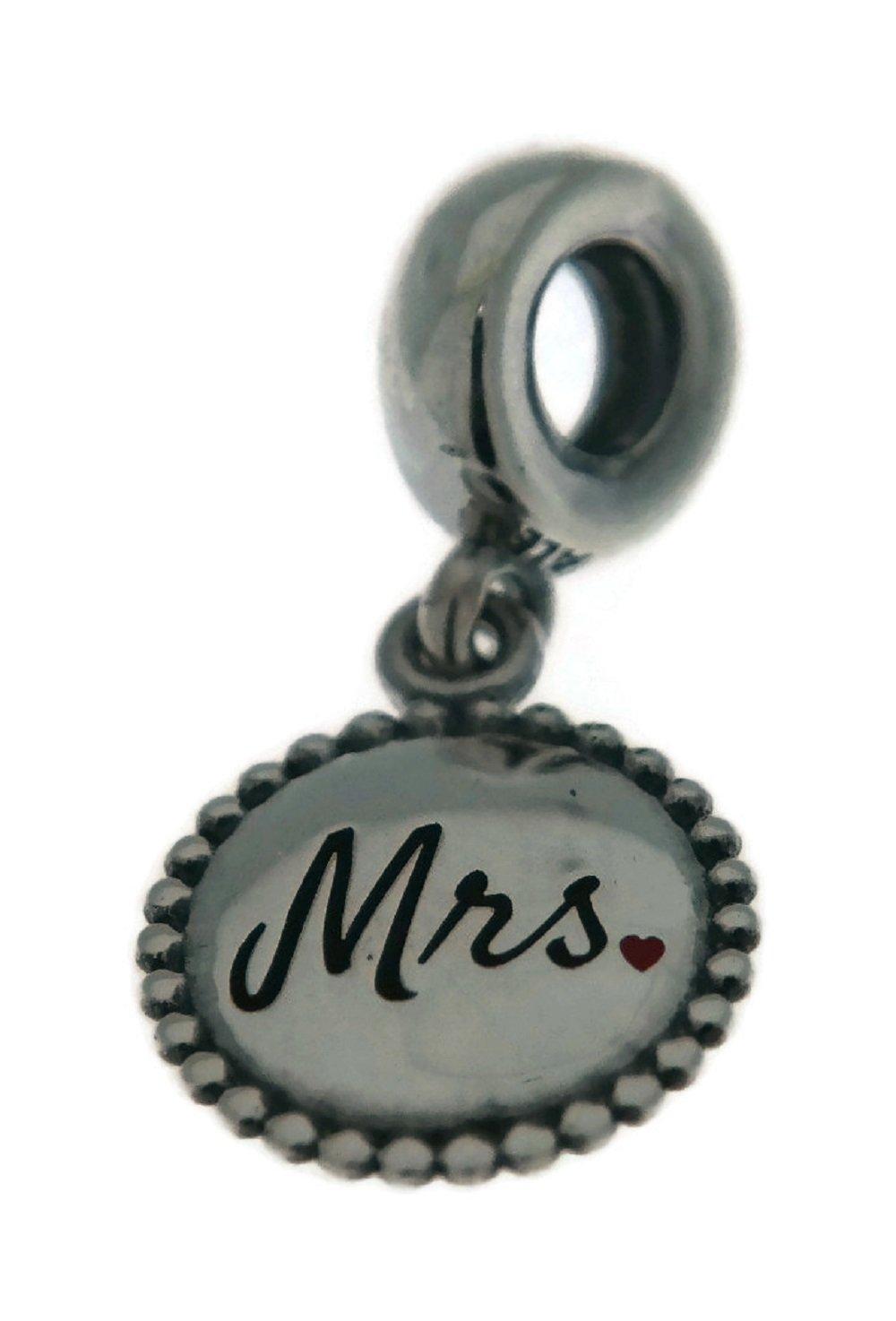 PANDORA Mrs Engraved Dangle Charm ENG791169_32