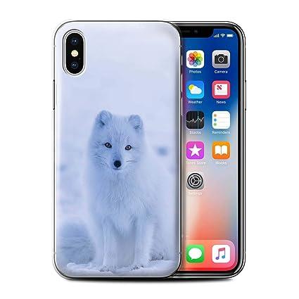 coque iphone xs renard