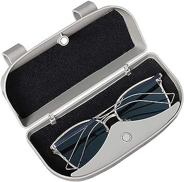 Vosarea Brillenhalter f/ür Auto Sonnenblende Universal Auto Sonnenbrille Brillenetui Aufbewahrungsbox Organizer