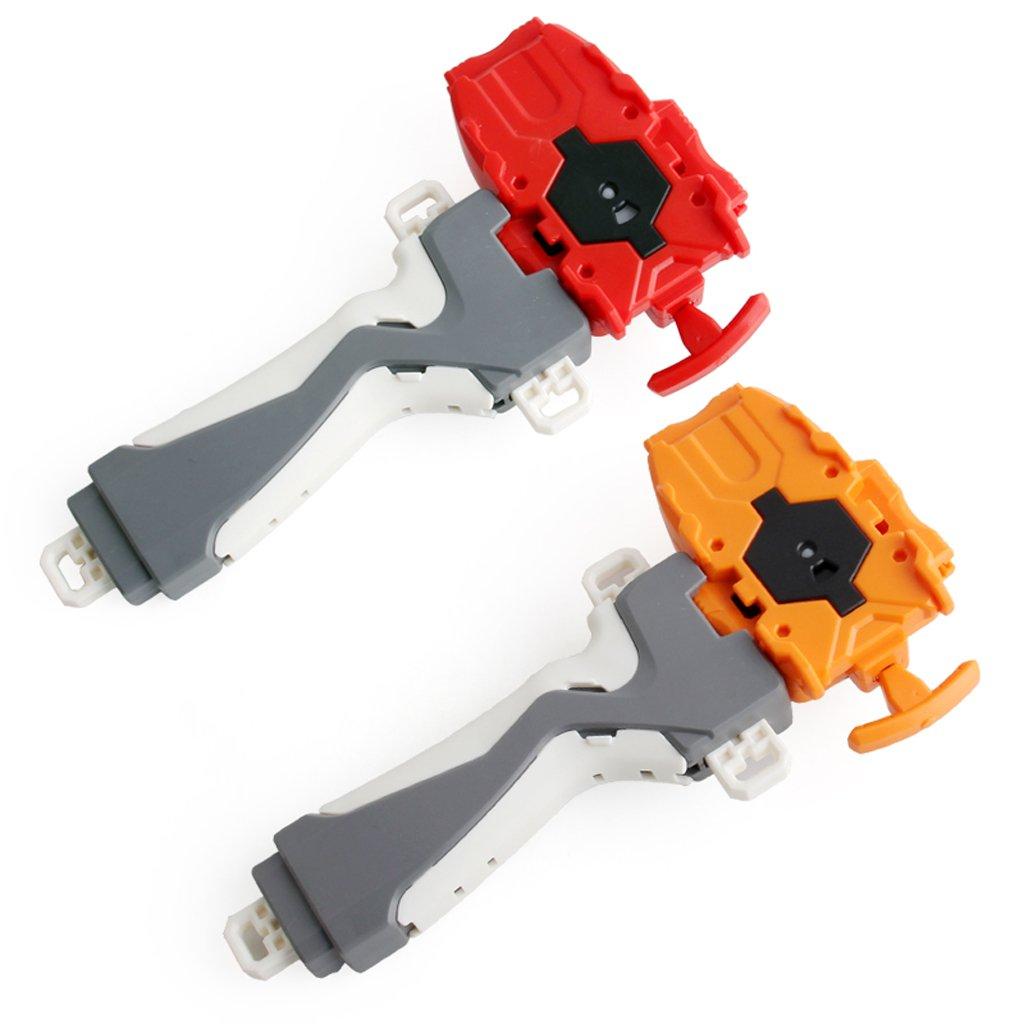 Homyl Kampfkreisel 3053 Serie Zubeh/ör Blau Kunststoff String Launcher mit Griff Spielzeugset