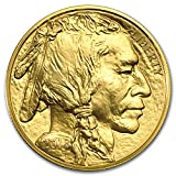 The Gold Buffalo was the first coin from the United States Mint that contains 1 oz of .9999 fine Gold. This beautiful coin is popular worldwide and is highly recognizable with its well-known Buffalo Nickel design.