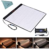 Falcon Eyes RX-24TDX 150W Portable Roll-flex Mat Photo Light Bi-Color LED Photo Light Flexible Waterproof LED Thickness Continuous Output Lighting For Shooting and Microfilming(Falcon Eyes RX-24TDX)