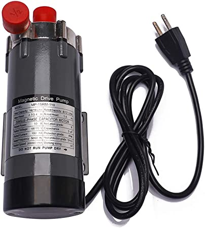 Magnetic Drive Water Pump MP-15R Stainless Steel Food Grade Home Brewing System
