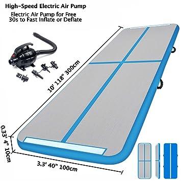 3M Esterilla Hinchable Air Floor Track para Gimnasia con Bomba de ...
