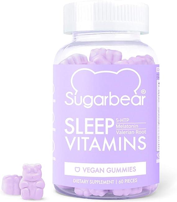 SugarBear Vegan Gummy Vitamins for Sleep