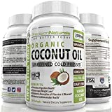Coconut Oil Softgel Capsules 120 count 2000 mg