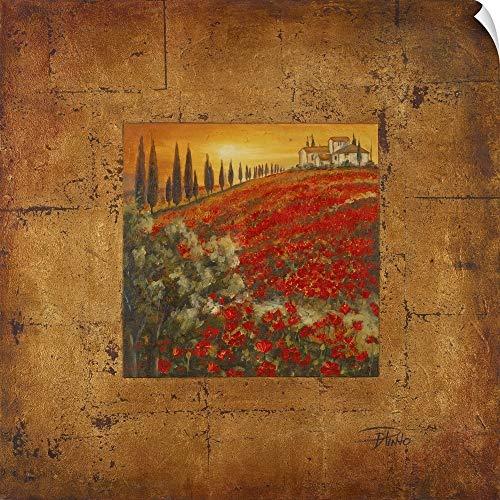 CANVAS ON DEMAND Bella Toscana II Wall Peel Art Print, 30