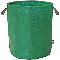 Garden Bag, HOOMIL Gardening Bag 33 Gallons Collapsible and Reusable Gardening Containers Garden Leaf Waste Bag for Lawn and Leaf