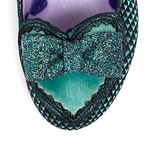 Irregular Choice Women's Miss Issippi Closed-Toe Heels Turquoise pUam2