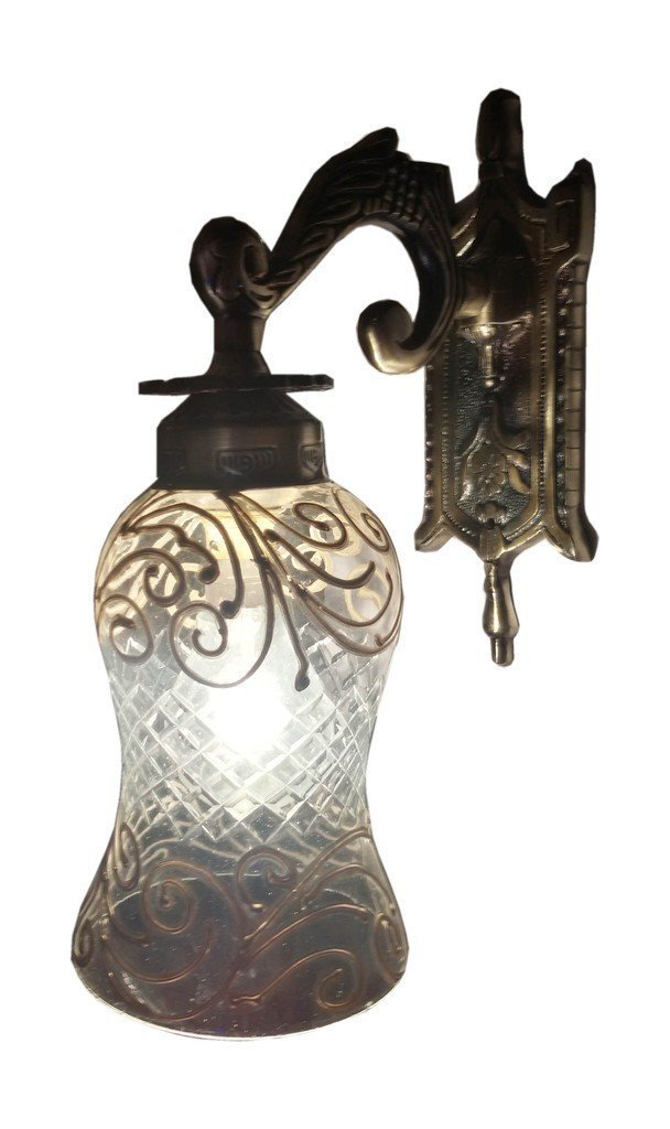 Weldecor Antiqua Brasso Magical Golden Era Wall Lamp (30 cm...