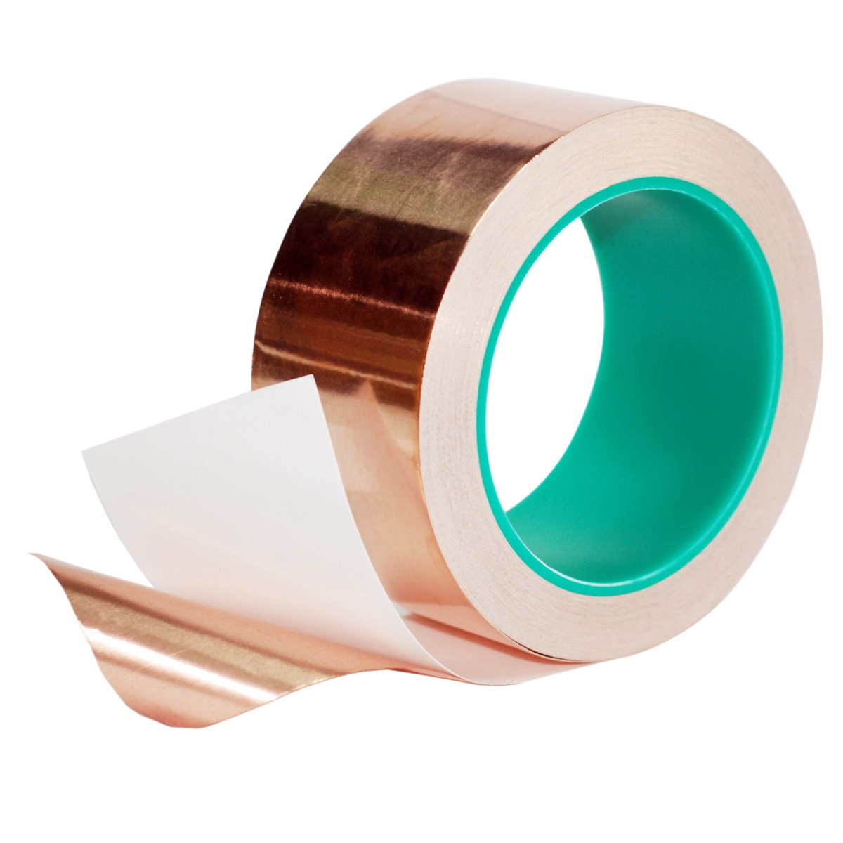 Copper Foil Tape,DIKOO Double-Sided Conductive Adhesive (2inch X 21.8yards) for EMI Shielding,Slug Repellent,Electrical Repairs,Stained Glass,Art Work,Soldering,Grounding Paper Circuits,Crafts