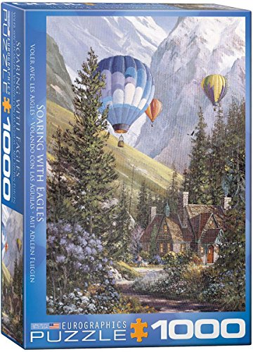 EuroGraphics Soaring with The Eagles Jigsaw Puzzle (1000-Piece)
