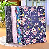 Katoot@ Korean stationery Vintage Floral hard cover notebook Small fresh flower A5 Notepad diary planner organizer journal school supply