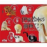 Maga Bako Ito JAKUCHU animals plus one! Trading figures 6 Pieces per BOX