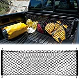 #6: Cargo Net Envelope Style Trunk Organizer Vehicle Storage For Toyota Tacoma 2015 2016 2017 Accessories