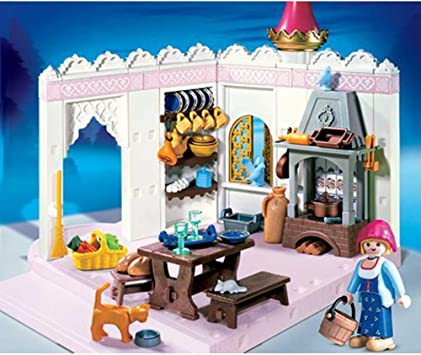 Playmobil Magic Castle 4251 Royal Kitchen Amazon Co Uk Toys Games