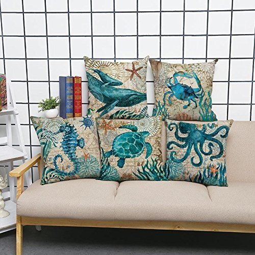 Ecomic Octopus Starfish Turquoisen Decorative product image