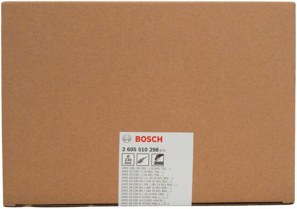 Bosch 2605510298 Protective Guard 230 mm with Coding Silver