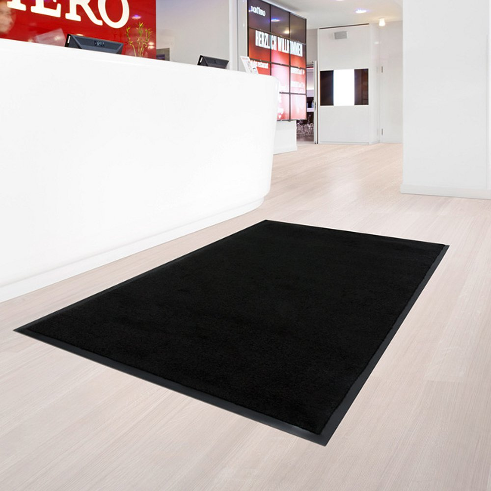 - Multiple Sizes casa pura Dirt Trapper Mat Absorbent Pile 4251336397890 - Multiple Sizes 16 x 24 Entrance Mat Non-Slip Backing 16 x 24 Absorbent Pile Black,