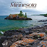 Minnesota, Wild & Scenic 2019 12 x 12 Inch Monthly Square Wall Calendar, USA United States of America Midwest State Nature (Multilingual Edition)