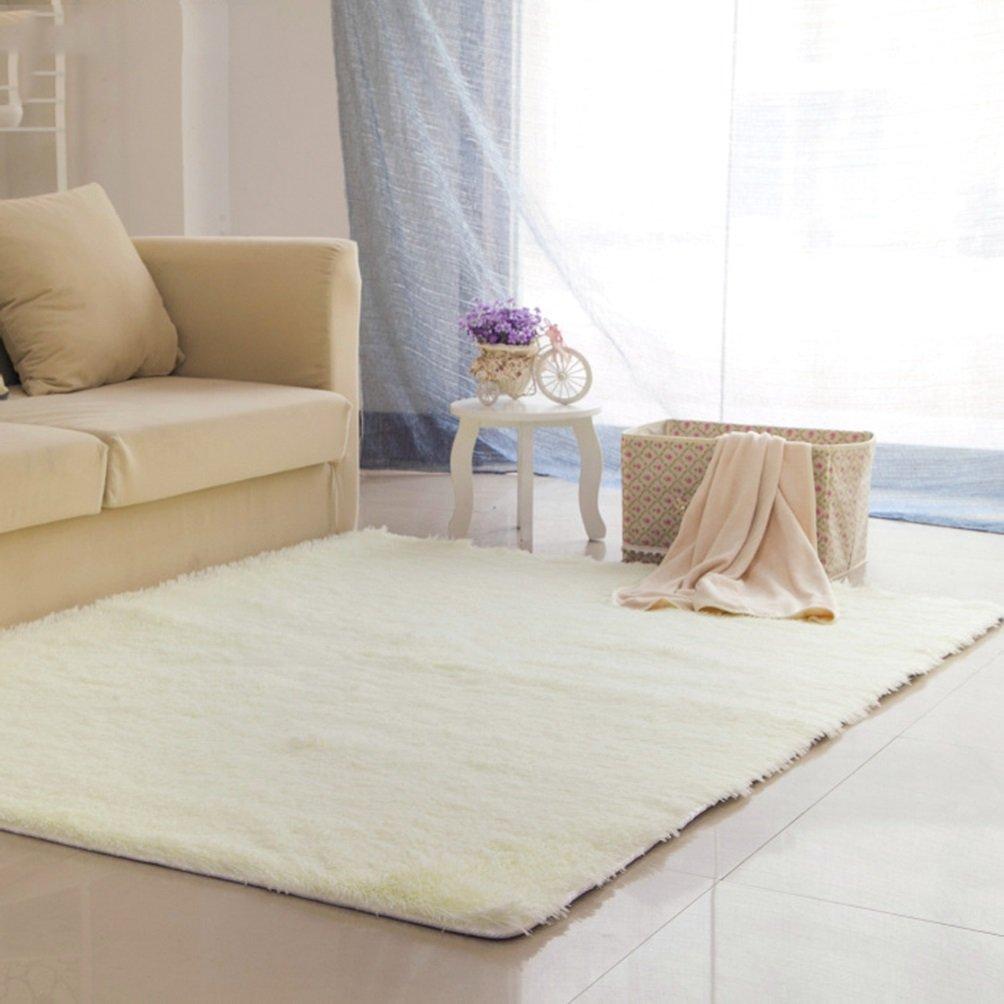 Rug WAN SAN QIAN- Children Bedroom Carpet Living Room Carpet Sofa Europe Princess Rectangle Blended Carpet Bedside (Color : C, Size : 140x200cm)