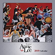 """Shades of Color The Art of Annie Lee 2018 African American Calendar, 12"""" x 12"""" (18AL)"""
