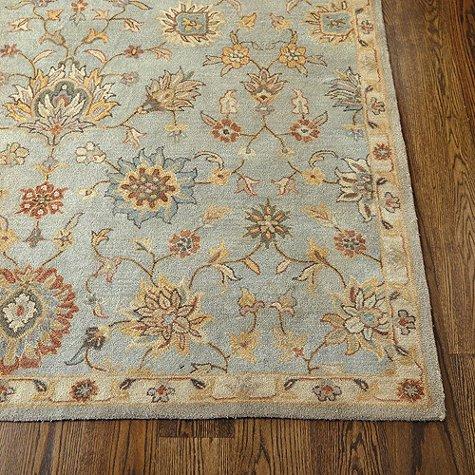 Ballard Designs 8 X 10 Devlin Handmade Persian Style Area Rugs   Carpet