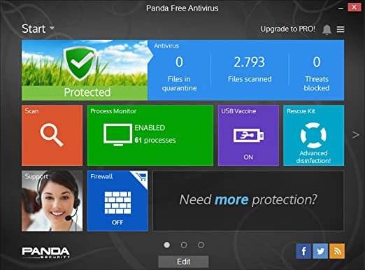 Review Panda Free Antivirus 2015