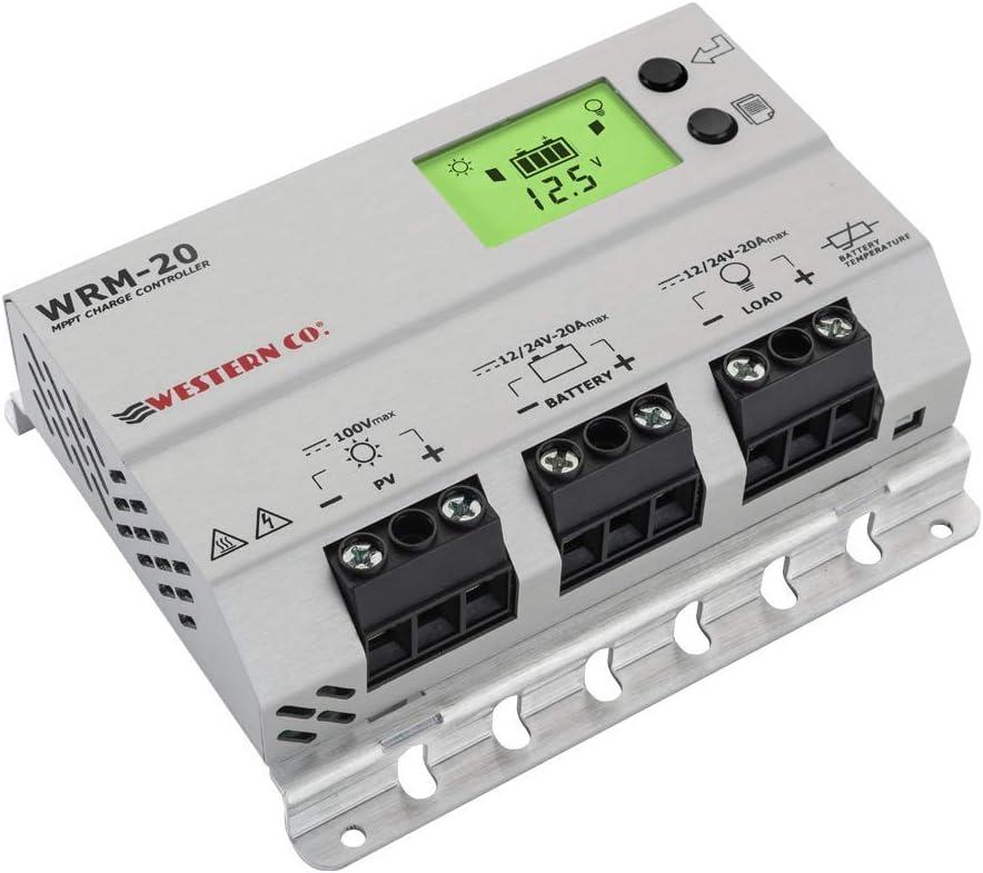 WRM20 R/égulateur de Charge 20 A MPPT