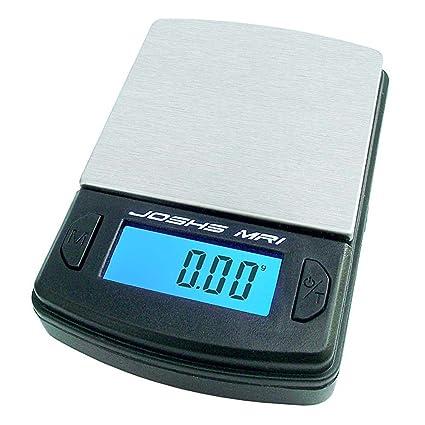 Joshs MR1 - Báscula digital de bolsillo (precisión desde 0,1 g hasta 500